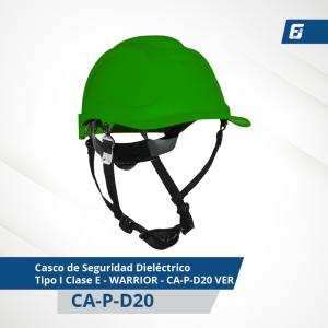 Casco de Seguridad Dieléctrico Tipo I Clase E - MINER - CA-P-D22R BL