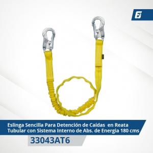 Eslinga de posicionamiento sencilla en cuerda poliéster 50-20C