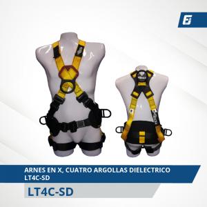 Arnés Premium Dielectrico Rescate Tipo Y  PAY-DPLF-P3
