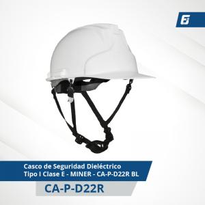Casco de Seguridad Dieléctrico Tipo I Clase E - SAFARI - CA-P-D21 NAR