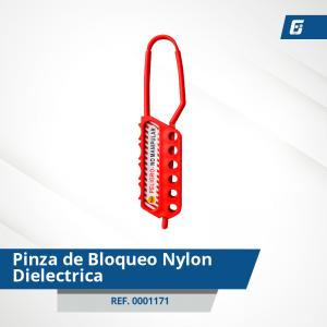 Pinza de Bloqueo Nylon - Dieléctrica