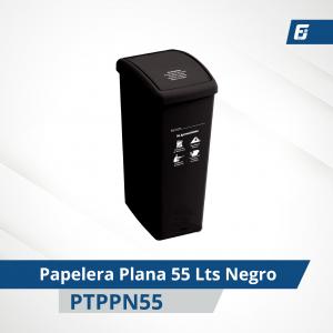 Papelera Plana 55 lts